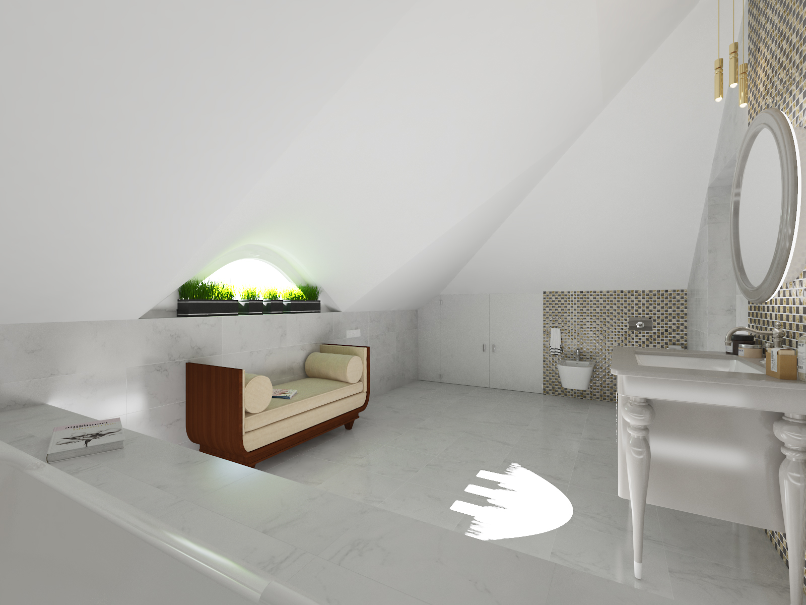 Bathroom 3D visualization