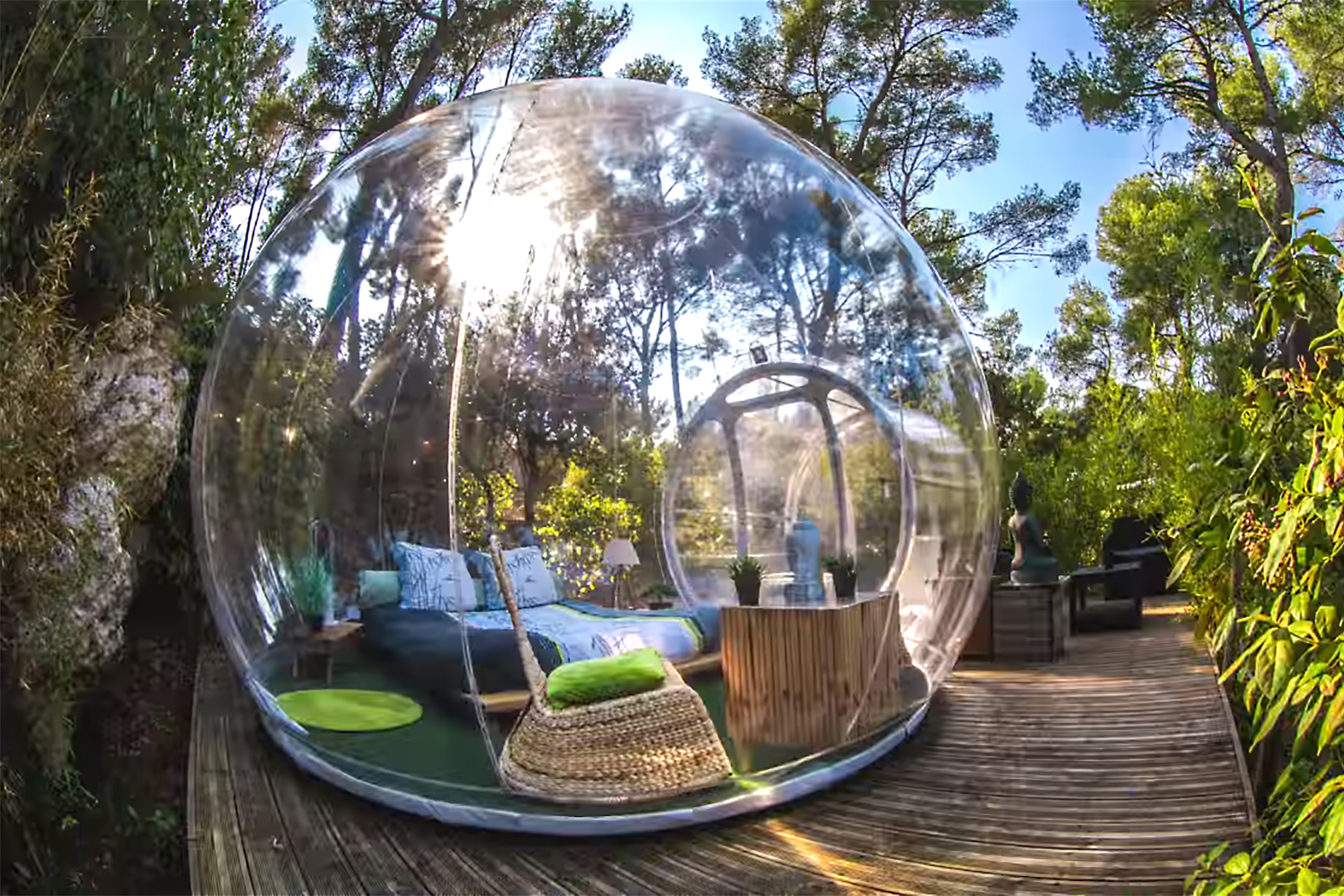 bubble hotel attrap reves france vis